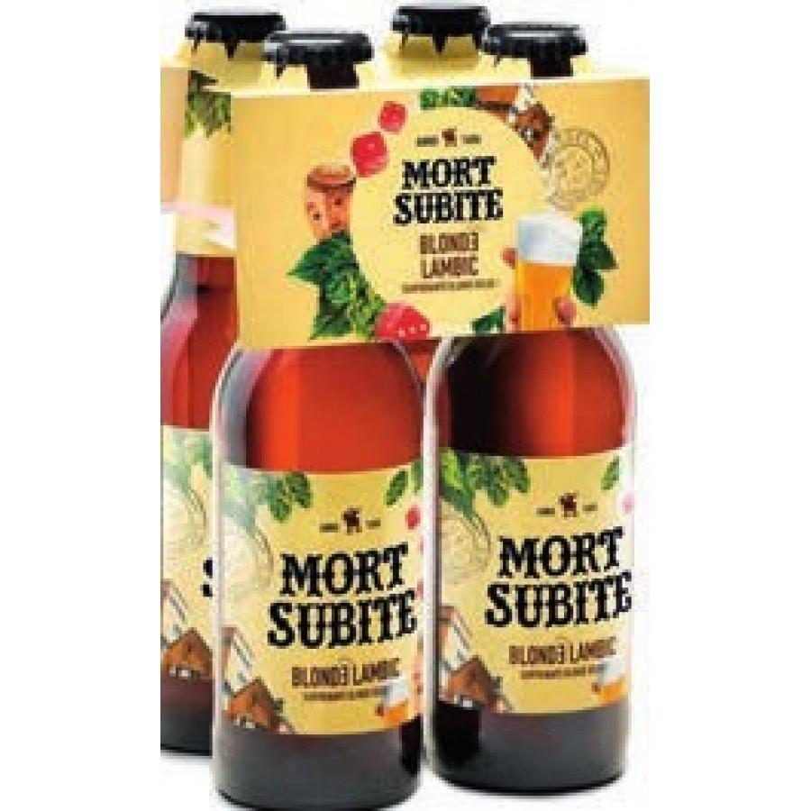 Pack de 4 Bières mort subite - 4x25cl