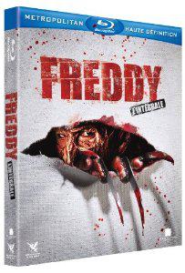 Coffret Freddy L'intégrale 7  films (4 Blu-Ray + 1 DVD bonus + 1 comic book)
