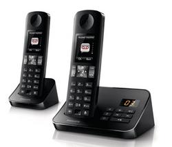 Téléphone répondeur D6052B/FR Duo Noir (Avec ODR de 15€)
