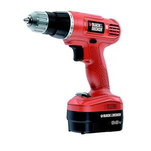 Perceuse visseuse sans fil 9.6V Black & Decker