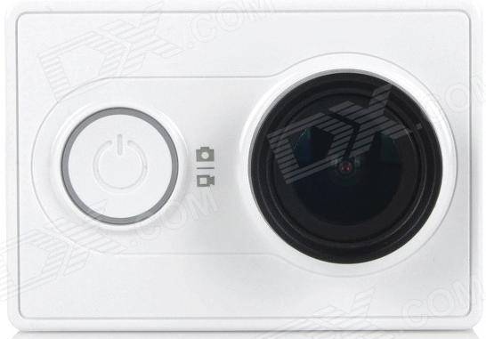 Caméra Sportive Xiaomi Yi Blanc - 1080p
