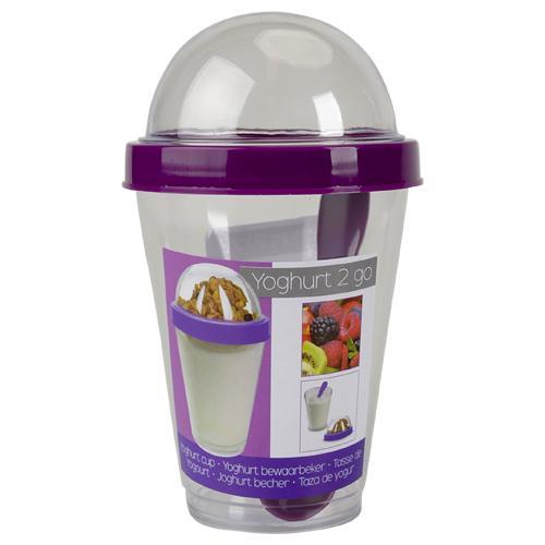 Gobelet pour yaourt / salade Take away - Coloris au choix