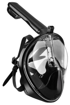 Masque de Plongée OMorc Schnorkel Plein Visage Compatible Go Pro - 180°, Anti-Buée, Anti-Fuite