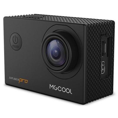 "Caméra sportive MGCOOL Explorer Pro - Sony IMX179, Ecran 2"", 16 MP, 4K 30fps / 1080p 60fps, Allwinner V3, WiFi (Noir) + Accessoires"