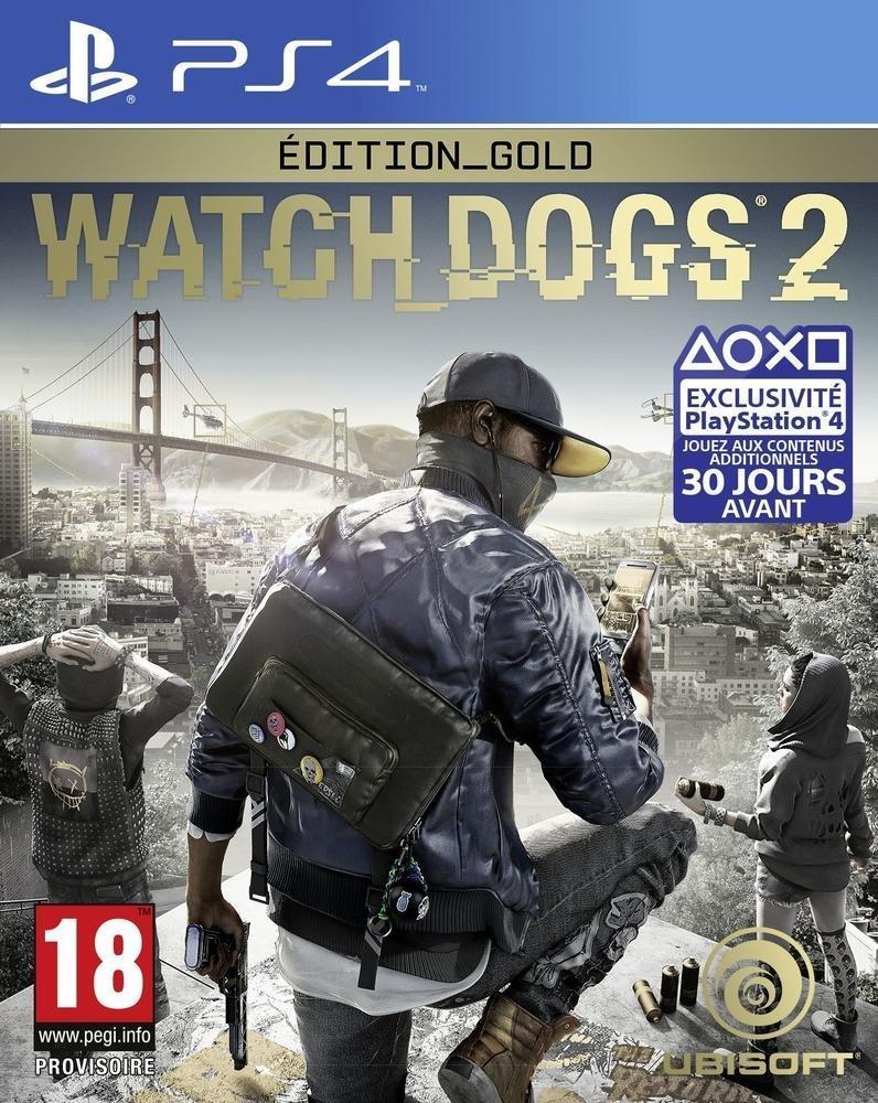 Sélection de jeux-vidéo en promotion - Ex: Watch Dogs 2 Gold Edition (Le jeu + Season Pass) sur PS4