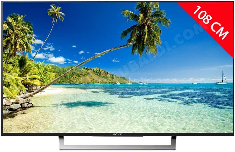 "TV 43"" Sony KD-43XD8005 - 4K UHD, Edge LED, 200 Hz, Smart TV"