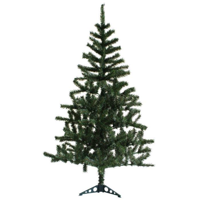 Sapin de Noël artificiel 150cm - Blanc ou Vert