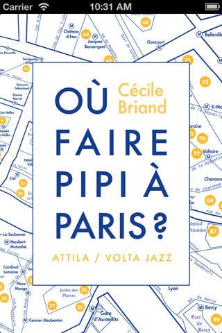 """Application """"Où faire pipi à Paris ?"""" gratuite sur iOS (Au lieu de 0.99€)"""