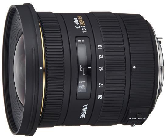 Objectif 10-20 mm F3,5 EX DC HSM Sigma - Monture Pentax