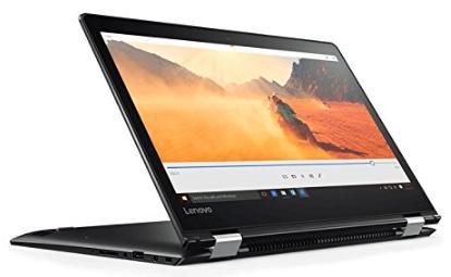 """PC Portable 14"""" Lenovo YOGA 510-14ISK Noir - HD, i3, RAM 4Go, 1To, Windows 10 (via ODR 50€)"""