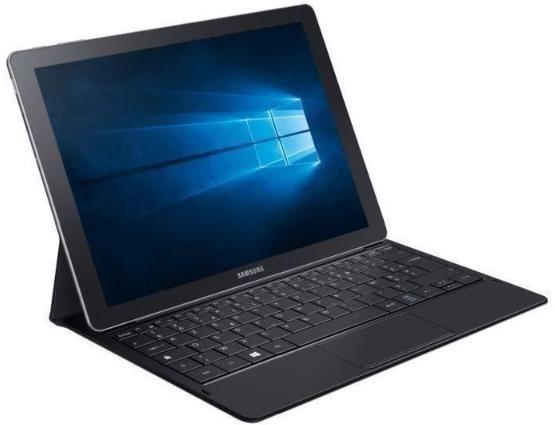"Tablette 12"" Samsung Galaxy TabPro S - 2160x1440, Core M3, RAM 4Go, SSD 128Go, Windows 10"