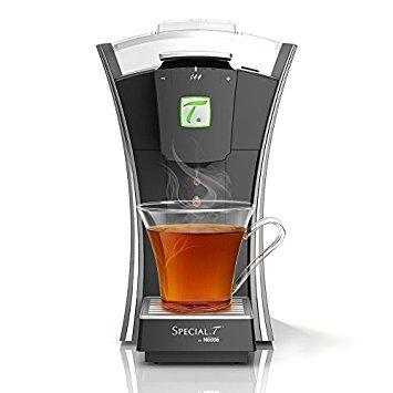 Machine à thé avec capsules Special.T by Nestlé MY.T Chrome - Argent