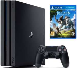 Pack Console PS4 Pro (Noir) - 1To + Horizon Zero Dawn sur PS4