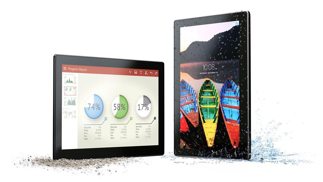 "Tablette 10"" Lenovo Tab 3 A10-70F - Full HD, RAM 2 Go, 16 Go, Android 6.0"