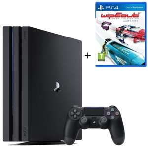 Pack Console Sony PS4 Pro (1 To) + WipEout Omega Collection