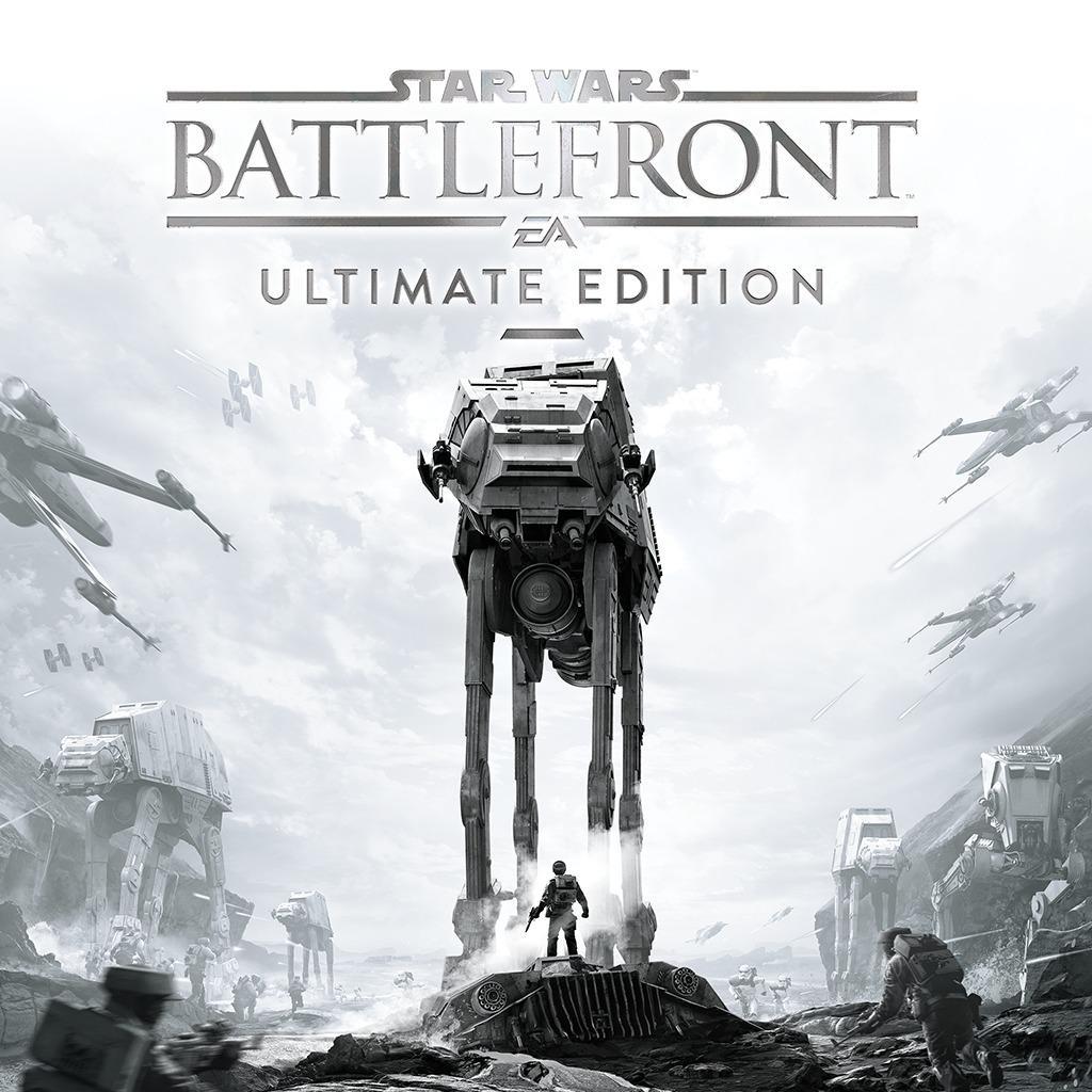 Sélection de jeux-vidéo en promotion - Ex: Star Wars Battlefront Ultimate Edition sur PC (Dématérialisé)