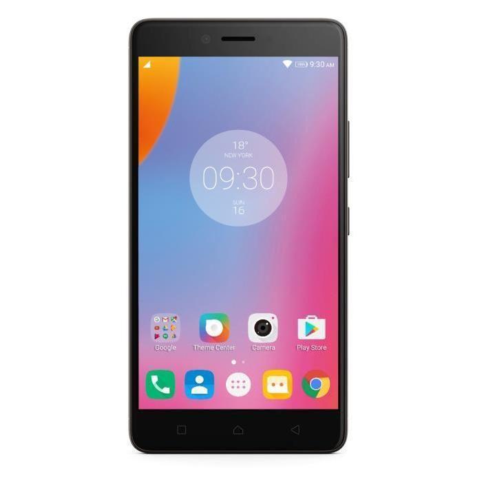 """Smartphone 5.5"""" Lenovo K6 Note - Octo Core, ROM 32 Go, RAM 3 Go, Noir ou Or (via ODR de 50€)"""