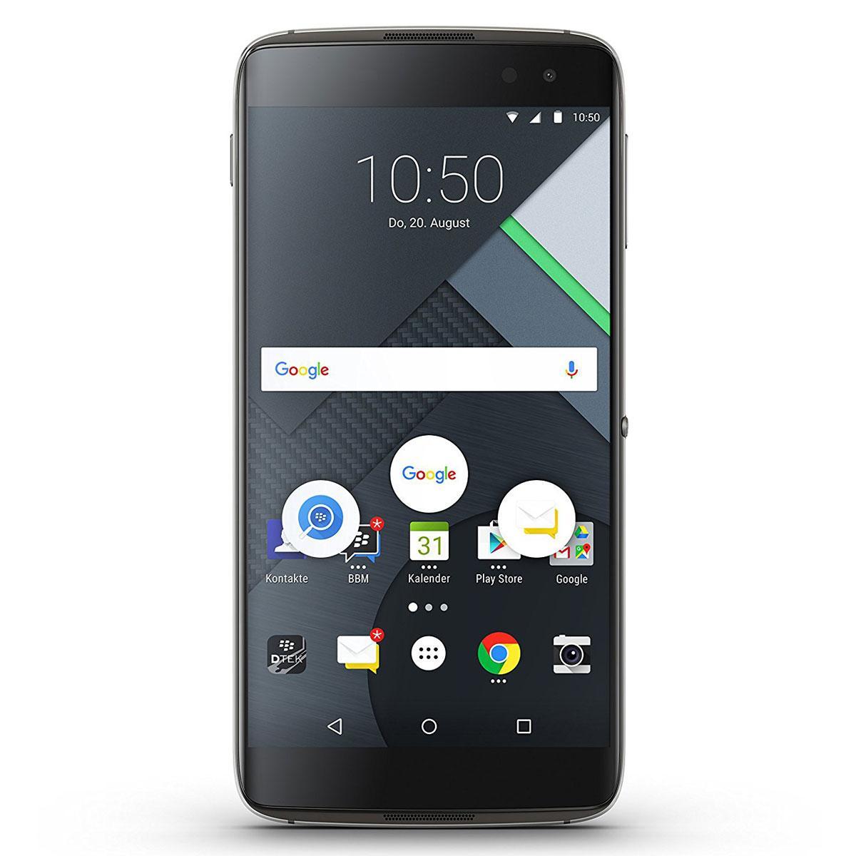 "Smartphone 5.5"" BlackBerry DTEK 60 - QHD AMOLED, Snapdragon 820, 4 Go RAM, 32 Go ROM"