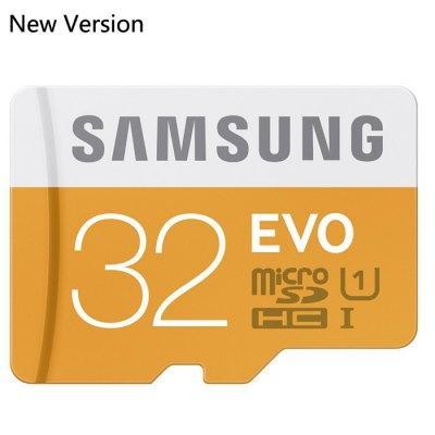 Carte microSDHC Samsung Evo UHS-I Class 10 (Jusqu'à 48 Mo/s) - 32 Go