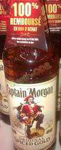 Rhum Captain Morgan Spiced gold 70cl (100% remboursé en bon de réduction)