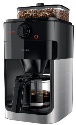 Cafetière Filtre Monobac Philips HD7765/00 avec Broyeur + Café en grains Lugat Le Blend Maison - 250g