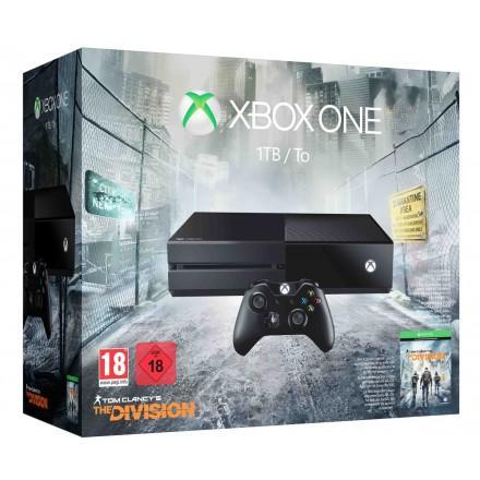 Sélection de consoles Xbox One en promotion - Ex : Console Microsoft Xbox One 1 To + THE DIVISION (+ 10€ de réduction sur une manette et/ou 8€ sur un abonnement Xbox Live 3 mois)