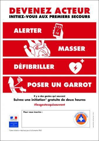 Initiations gratuites aux gestes qui sauvent dans toute la France