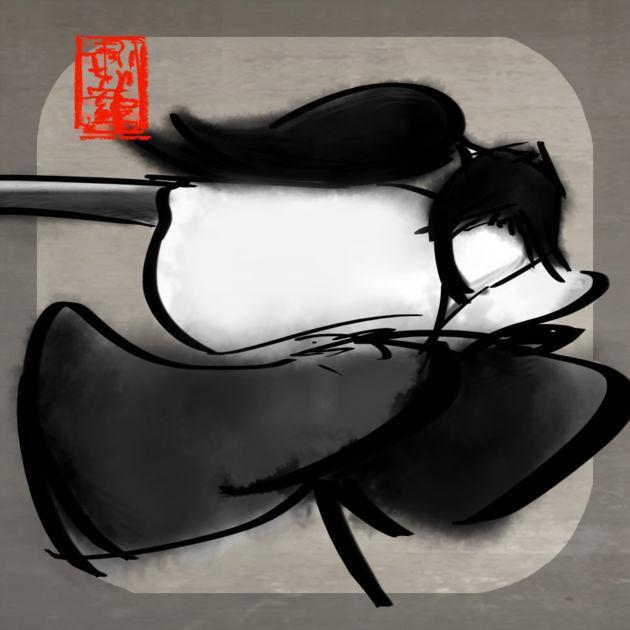 SumiKen : Ink Blade Samurai gratuit sur iOS (au lieu de 2.29€)