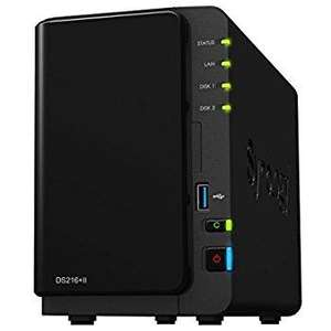 Serveur NAS Synology DiskStation DS716+II (2 baies)