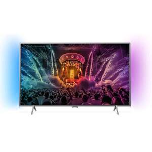"TV 55"" Philips 55PUS6201/12 - Full LED, UHD, Smart 4K"