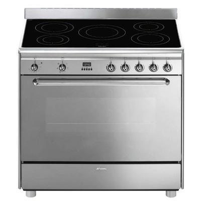 Piano de cuisson SMEG CG 90 IX (5 feux inductions)