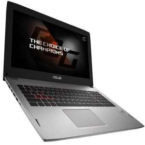 "PC portable 15.6"" Asus ROG GL502VS-FY299 (Full HD IPS, i7-7700HQ, GTX-1070, 8 Go de RAM, 1 To + 128 Go en SSD, G-Sync, sans OS)"