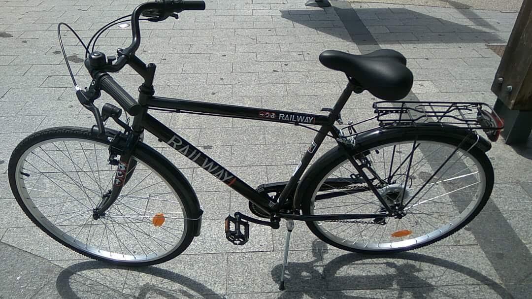 Vélo de ville Railway Man 1.5 - Noir