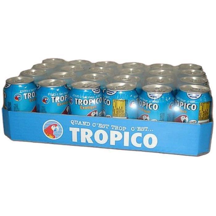 Pack de 24 canettes de Tropico - 24x33cl
