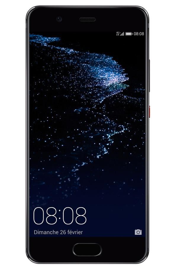 "Smartphone 5.2"" Huawei P10 - 4 Go RAM, 64 Go Noir ou silver (via bonus reprise ancien téléphone 100€)"
