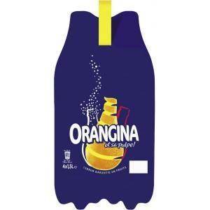Sélection de boissons en promotion - Ex : Pack de 4 Bouteilles d'Orangina - 4 x 1.5L (via 2.75€ sur la carte)
