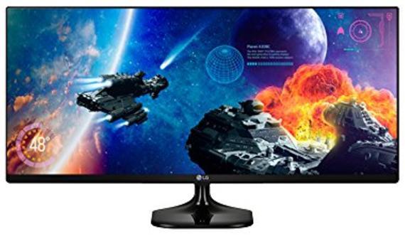 """Écran PC LED 25"""" LG 25UM58 - 21/9, UWFHD, 2560x1080, 5 ms"""