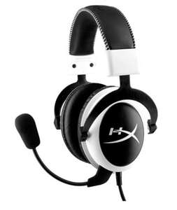 Casque-micro Gaming HyperX Cloud compatible PC, PS4, Mac & Mobiles - Blanc / Noir