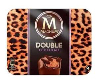 Sélection de produits en promotions - Ex: Boite de 4 glaces Double Magnum - Différentes variétés (via BDR)