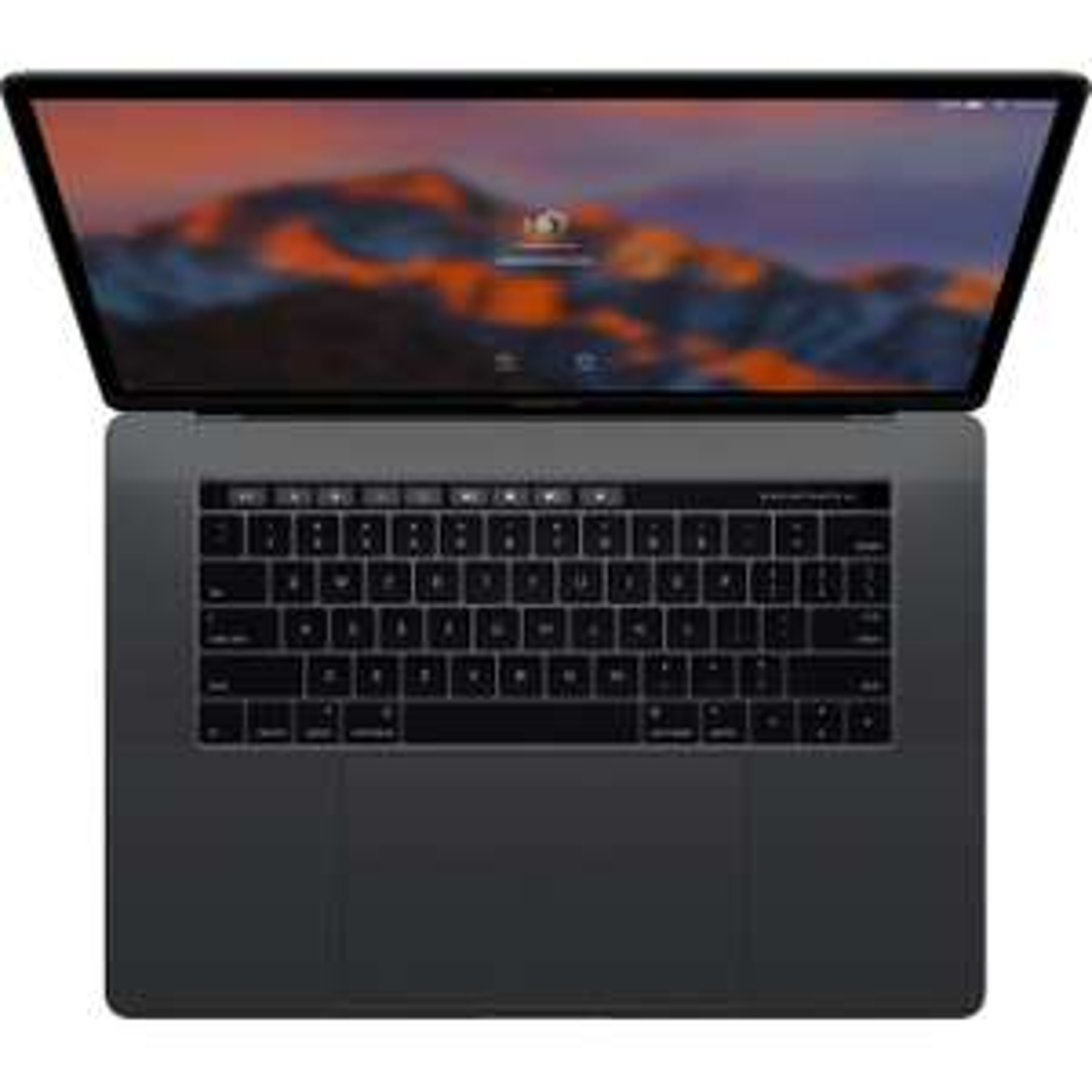 "PC portable 15.5"" Apple Macbook Pro - i7, 16 Go RAM, 256 Go SSD, Radeon Pro 450 2 Go, Touch Bar, QWERTZ"