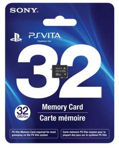 Carte Mémoire Sony Playstation Vita 32 Go (6.99€ de port)
