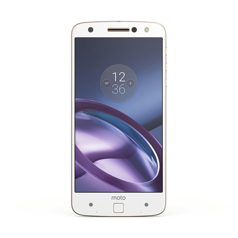 "Smartphone 5.5"" Lenovo Moto Z - 32 Go, 4 Go RAM, Blanc"