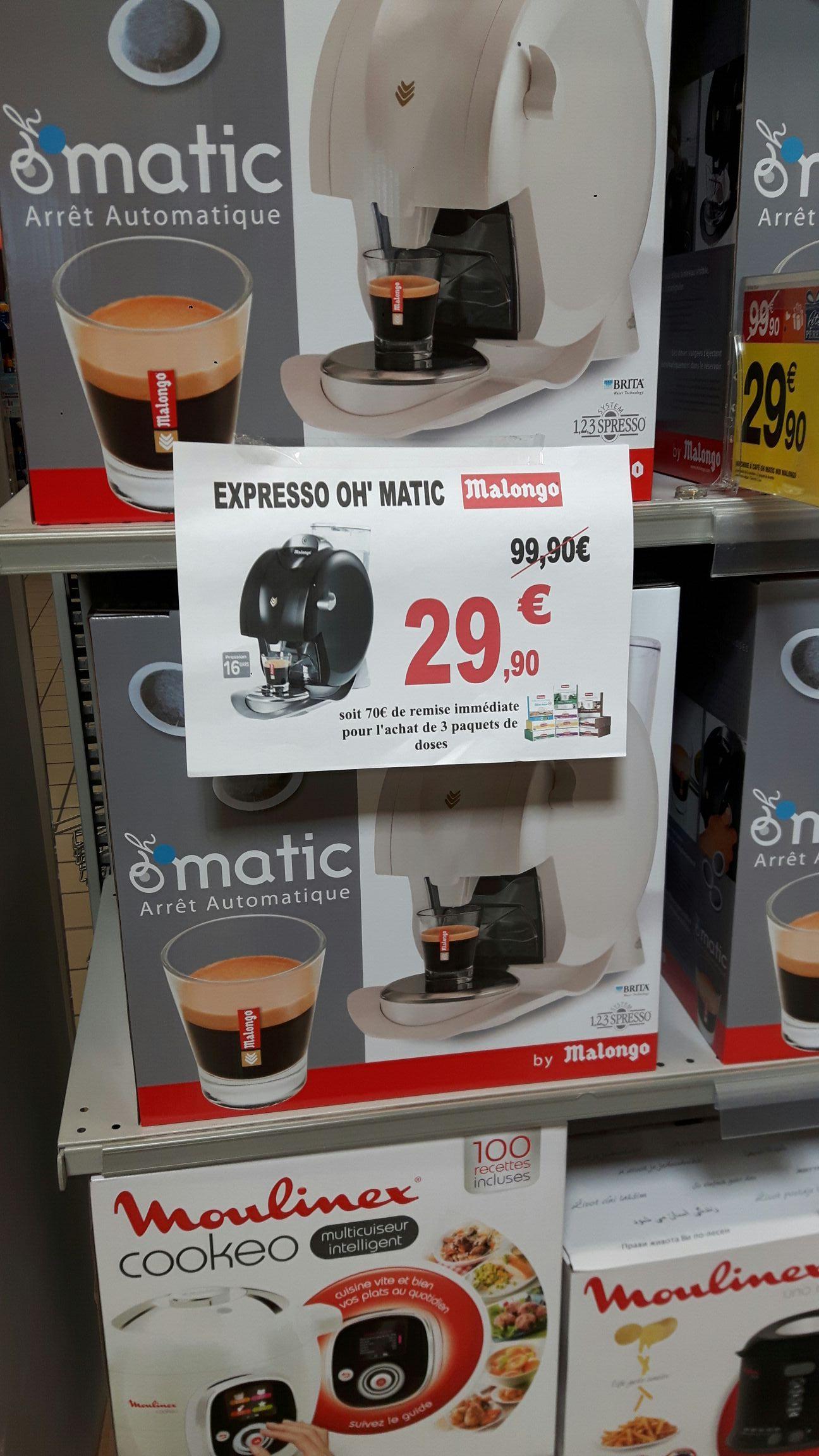Machine à dosette Oh'Matic by Malongo