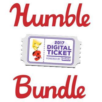 Humble E3 2017 Digital Ticket - 2 jeux et 9 DLC sur PC (Dématérialisé)
