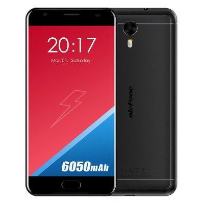 """Smartphone 5.5"""" Ulefone Power 2 - Android 7.0, B20, 4Go RAM, 64Go ROM, 6050mAh"""