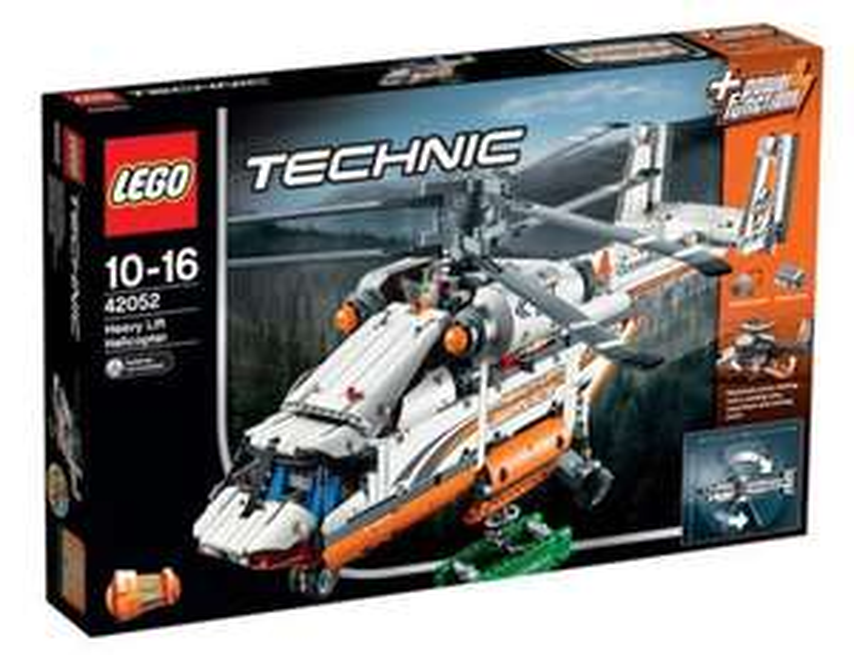 Jeu de construction Lego technic Hélico de transport n°42052