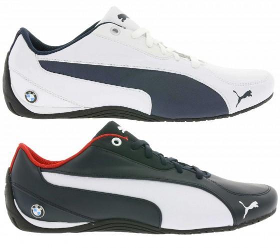 Chaussures Puma BMW MS Drift Cat 5 NM - Blanc et Noir