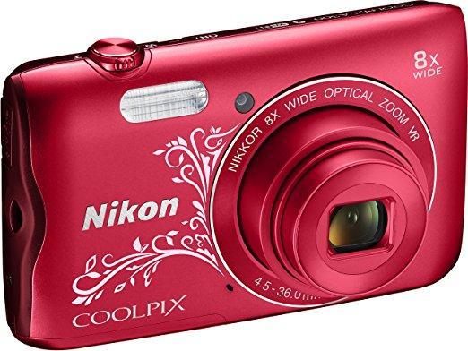 Appareil photo numérique Nikon Coolpix A300  - Plusieurs coloris