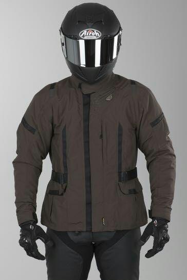 Veste moto Macna Essential - Marron (Taille S, XL et XXL)