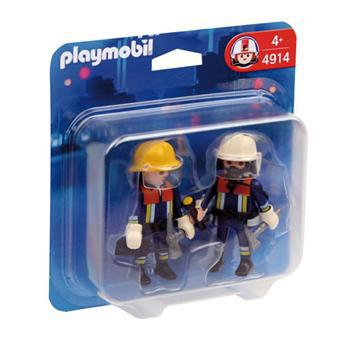 Playmobil 4914 Duo pompiers (2.79€ pour les adhérents )